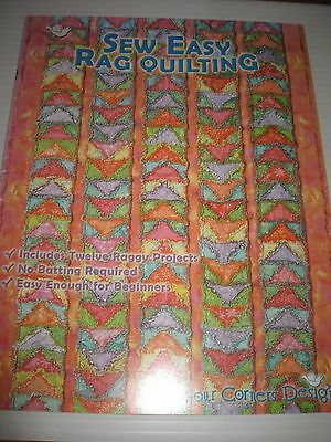 Quilting Book Sew Easy Rag Quilting Super Inspiration