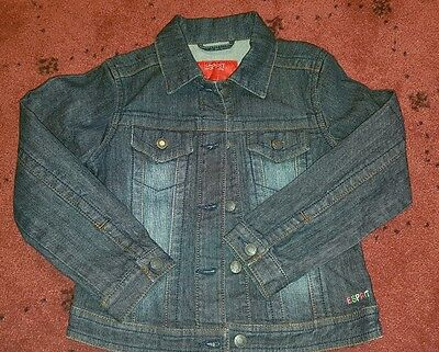 Girls sz 6-7 Esprit denim jacket EUC