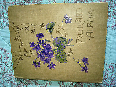 Postcard Album With  About 140 Cards