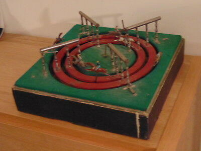 ES/Jeu De Course Antique French Horse Racing Gambling Game 15  inch for  pieces
