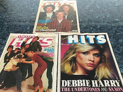 Smash Hits Magazine x 3 from 1980/1981