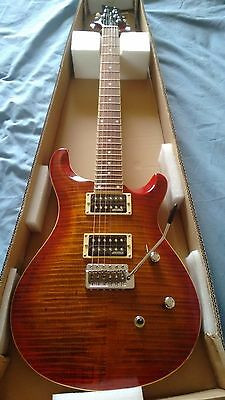 NEW Electric Guitar AAA flamed maple top wilkinson pickups + tremlo