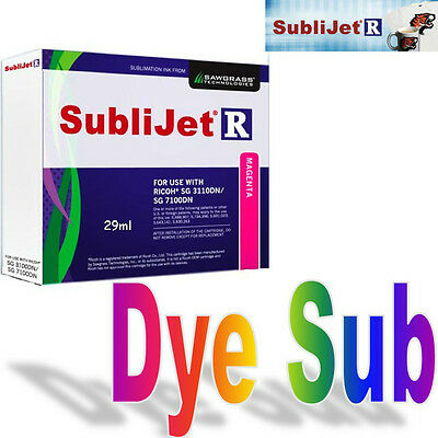 Sawgrass Sublijet - R Sublimation Ink Magenta Cartridge For Ricoh Sg 7100Dn