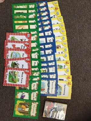 Large Bundle Of Jolly Phonics Reading Books And Dvd