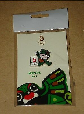 Authentic Beijing 2008 Olympic Games Pin – Nini Mascot - Baseball - Softball