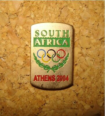 South Africa Olympic Games Pin – Athens 2004