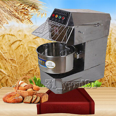 Double action Double speed 8KG Small Spiral Dough Mixer 110V/220V