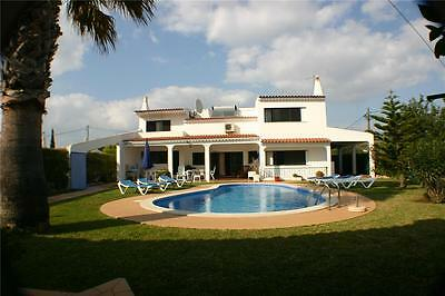 Luxury Holiday Villa Algarve Portugal sleeps 11 pool 26th August  to 2nd of Sept