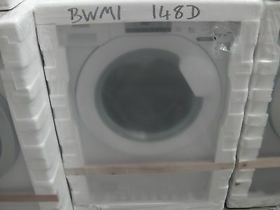 Baumatic BWMI148D NEW MODEL 8kg 1400 Spin Built in Washing Machine