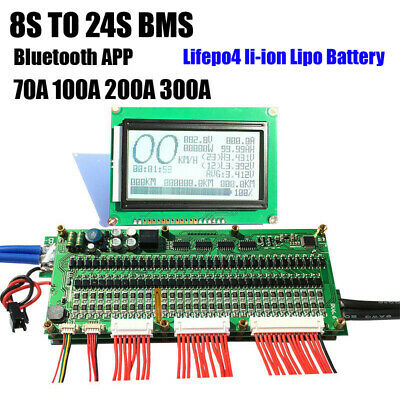8S 24S LIFEPO4 li-ion Lipo Battery Protection Board Smart BMS