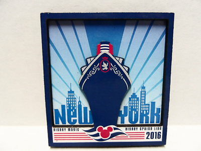 Disney 2016 Disney Cruise Line NEW YORK Magnet Brand New