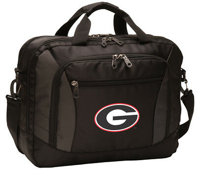 Georgia Bulldogs Laptop Bag UGA Computer Bags Messenger LOADED With POCKETS!