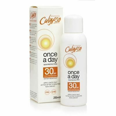 Calypso 200ml Once a Day SPF 30 1 2 3 6 12 Packs