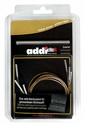 addi Click Cords and Connector for Interchangeable Knitting Needles