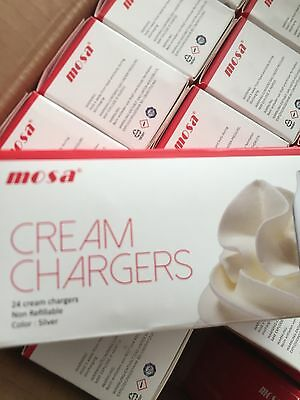 cream charger mosa x 24