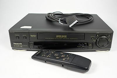 Panasonic Nv-Sd460 Vhs Videorecorder + Fernbedienung