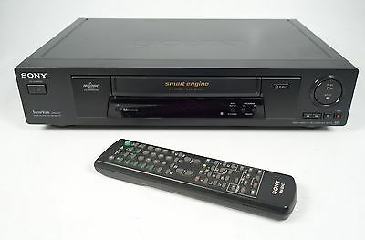 Sony Slv-Se700 Hifi Stereo Vhs Video-Recorder + Fernbedienung