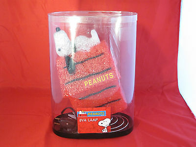 Peanuts Eva Snoopy On Doghouse Lamp