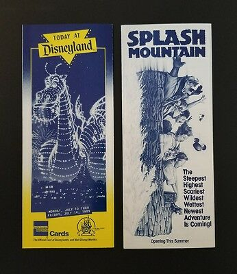 Disney Ephemera June 19-23 1989 Today at Disneyland Entertainment Guide