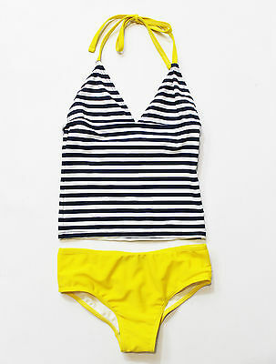 NWT Toobydoo Girls' Two-Piece Tankini Swimsuit ~ Size 1-2
