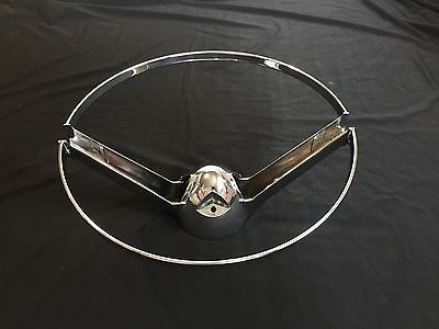 1959 CADILLAC STEERING WHEEL HORN RING #1471516 OEM- # 9 out 10 in Quality!
