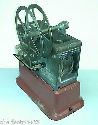 Gamewell -- Antique Telegraph Circle Punch Register, Fire Alarm