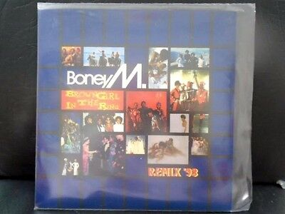 """Boney M """" Brown Girl In The Ring """" `93 Remix Mint Cond.in Mint Pic Sl."""