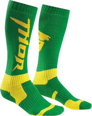 Thor Strümpfe Mx S6 Long Sock Green/yellow 10-13