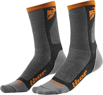 Thor Strümpfe Dual Sport S6 Casual Sock Gray/orange 10-13