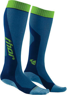 Thor Strümpfe Mx Cool S6 Long Sock Blue/green 6-9