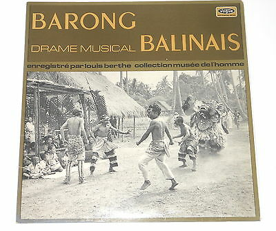 Louis Berthe - LP - Barong - Drame Musical Balinais - FRA 1971 - Vogue LTD 763
