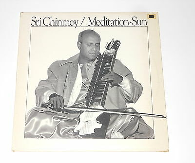 Sri Chinmoy - LP - Meditation-Sun - CAN 1977 - Alo Niloy Records 737-01