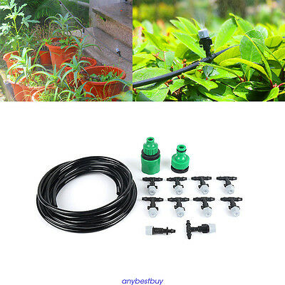 1 x 5m Irrigation Patio Misting Cooling System Outdoor Irrigation System Hot