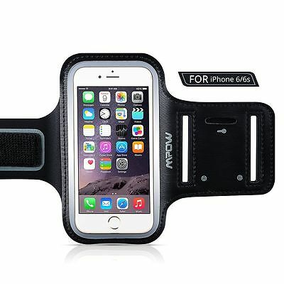 "Mpow Sport Running Armband Case Jogging Gym Arm Band Pouch Holder for 4.7"" US"