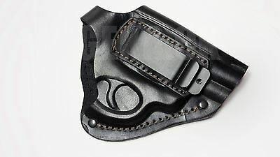 NEW! Leather Waist Gun Holster Revolver Belt Concealed Carry Gat Pistol 2,5""