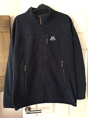 Mountain Equipment Mens Litmus Fleece Jacket Size XL RRP £90 Blue