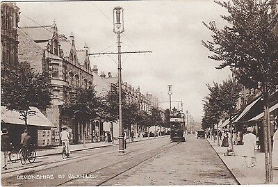 A99: Hastings Tram Car  Devonshire  Road Bexhill
