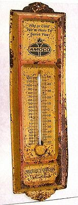 Vintage Advertising Amoco Thermometer - Michael's Grocery - Hinton, Wv