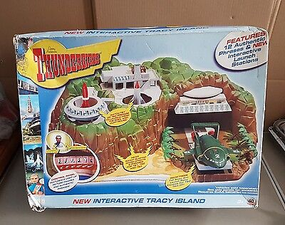THUNDERBIRDS Tracy Island (1992) Matchbox  VEHICLES,  & BOX