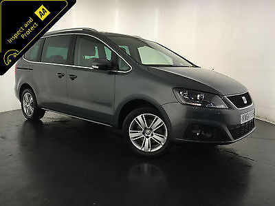 2015 Seat Alhambra Se Ecomotive Cr Tdi Diesel 1 Owner 7 Seats Finance Px