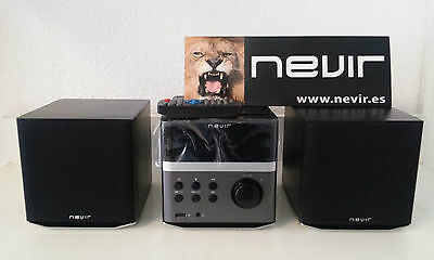 Minicadena Nevir Nvr-699 Mcdu Cd, Mp3, Usb Frontal, Aux (In-Out), Radio