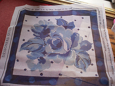 Designers Guild, Large Margherita  Tapestry  Kit, Anchor Wools - Vintage 1994,