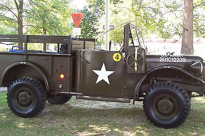 1953 Dodge M37 Weapons Carrier