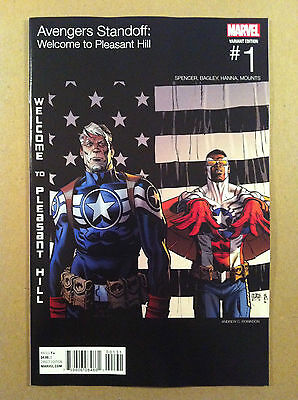 Avengers Standoff Welcome To Pleasant Hill #1 Hip-Hop Variant Nm 1St Printing