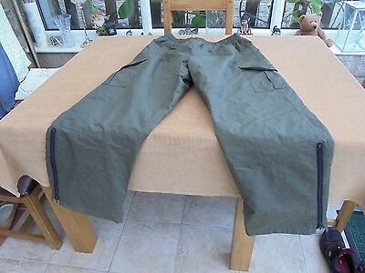 ESP supergrade quilted waterproof trousers large in good condition, 5 pockets