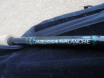 REDUCED SCIERRA AVALANCHE 15ft, 3-piece salmon fly rod line 11 in unused cond