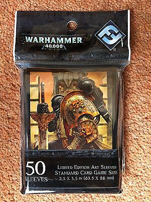 Warhammer 40,000 For The Emperor LE Trading Card Art Sleeves (50) 2013 FFG