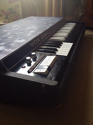 Vox Jaguar Electric Organ Vintage Keyboard Not Continental Synthesizer