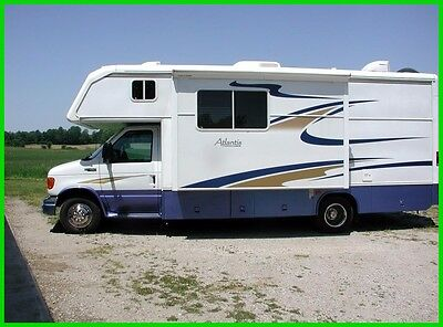 2004 Holiday Rambler Atlantis M-24RBS Used, Class C, 1 Slide Out, Bathtub