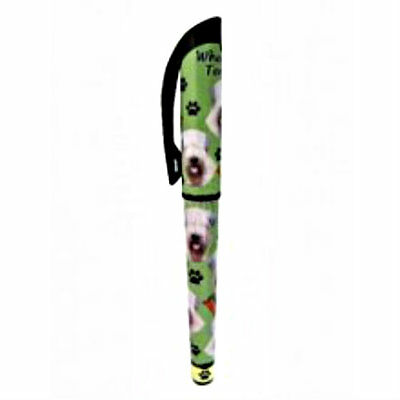 Wheaten Terrier Dog Lovers Pen Refillable Gift Puppy E & S Pets Many Breeds